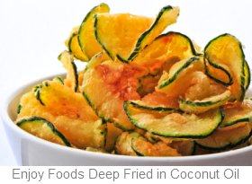 Cooking with Coconut Oil Deep Fried Foods