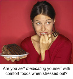 Use Fun Ways to Relieve Stress Instead of Self-medicating Yourself with Comfort Foods